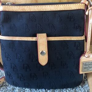 Dooney and Bourke Crossbody Black Nylon purse